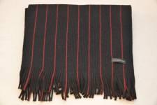 Amanda Christensen huivi, musta-punainen