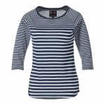 Musto t-paita Eleanor 3/4 Sleeve Stripe Tee