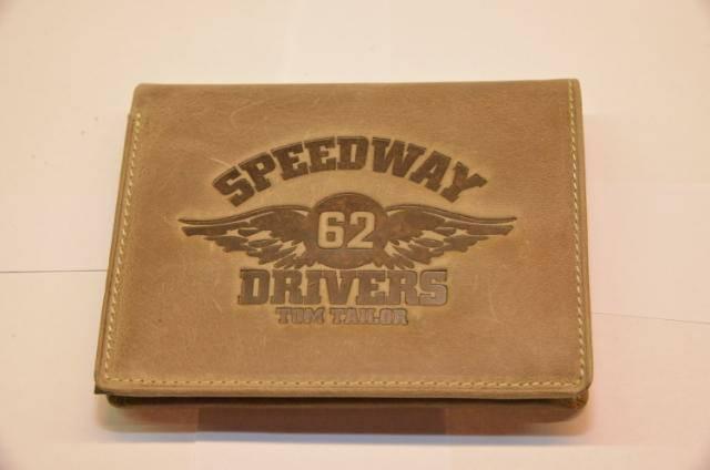 Tom Tailor lompakko Speedway, Väri: vaalean ruskea
