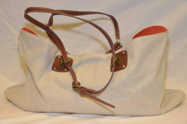 Henry Cotton's laukku, Väri: beige / oranssi