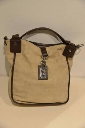 Henry Cotton's laukku, beige-ruskea