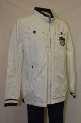 Sebago takki, Koko: XXL, Väri: valkoinen
