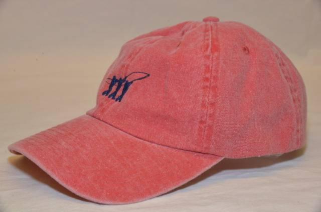 Henry Cotton's lippalakki Outwashed Cap, Väri: punainen