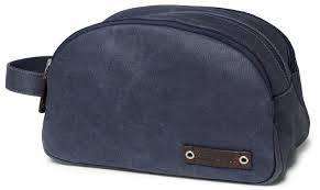 Sebago saniteettilaukku Canvas Wash Bag, Väri: navy, Koko: 4.2 L