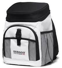 Sebago kylmälaukku Cool Bag, Väri: valkoinen/musta, Koko: 26 x 36x 17 cm.