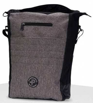 Pelle P reppu Journey Backpack, Väri: harmaan melange/musta