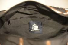 Marina Yachting Holdall laukku, musta-ruskea-valkoinen